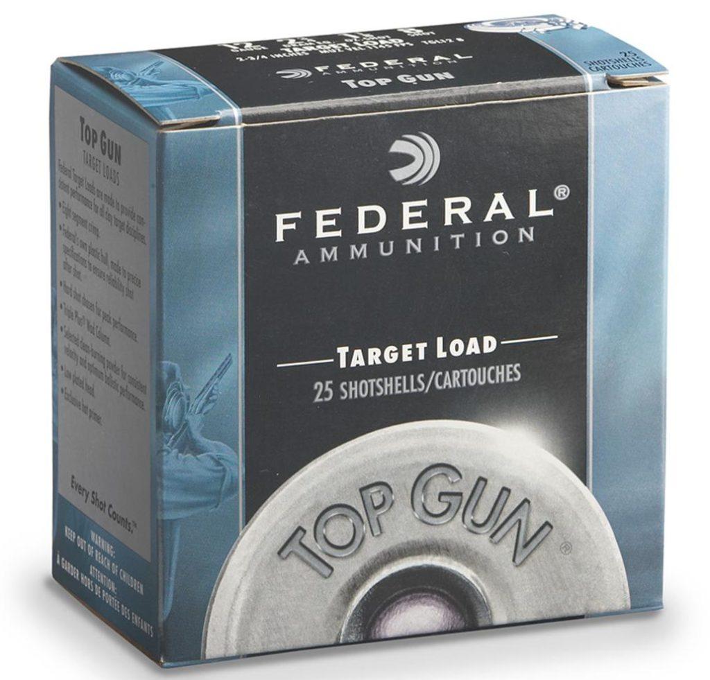 federal target load shotshells