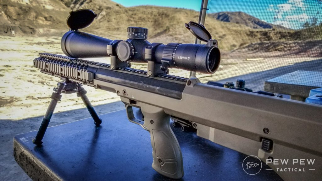 Leupold Mark 5HD Mounted