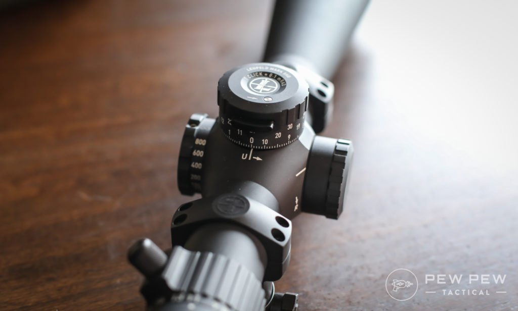 Leupold Mark 5HD Turrets