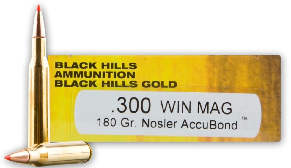 Black Hills Gold 180-Grain Nosler Accubond