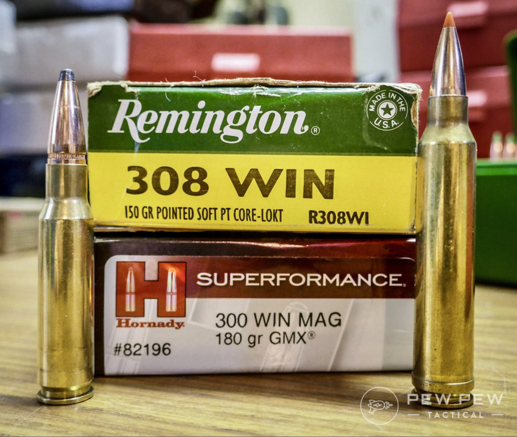 308 Win Vs  300 Win Mag: [Battle of the  30 Calibers] - Pew