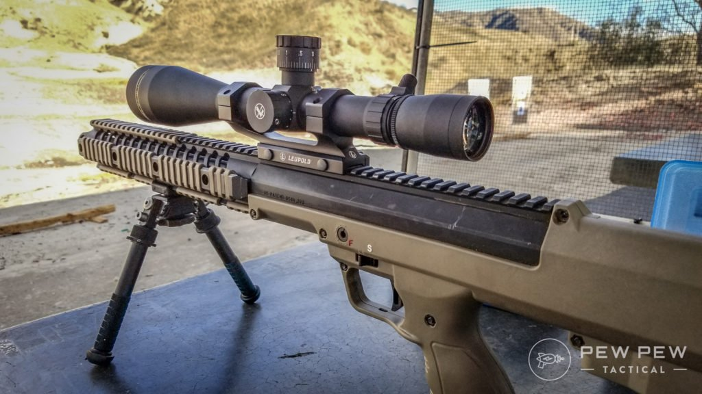 Leupold LRP Mounted