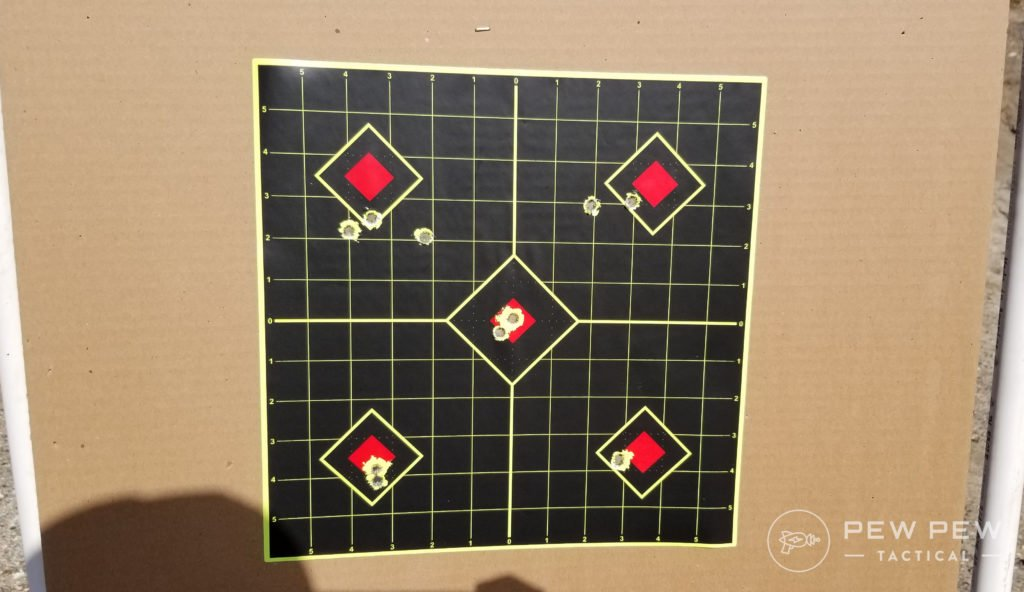 Leupold LRP Tracking Test