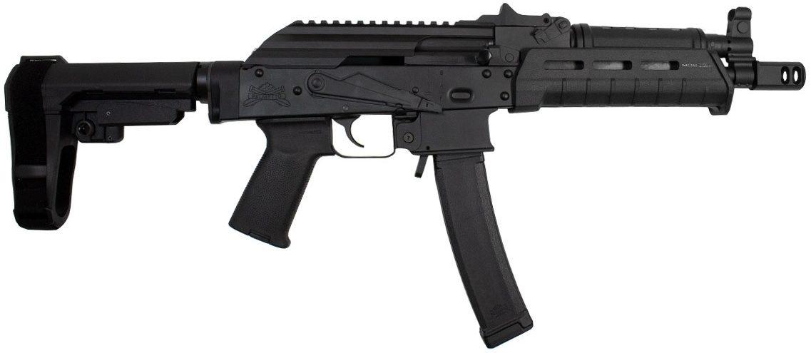 PSA AK-V 9mm, MOE SBA3 Pistol
