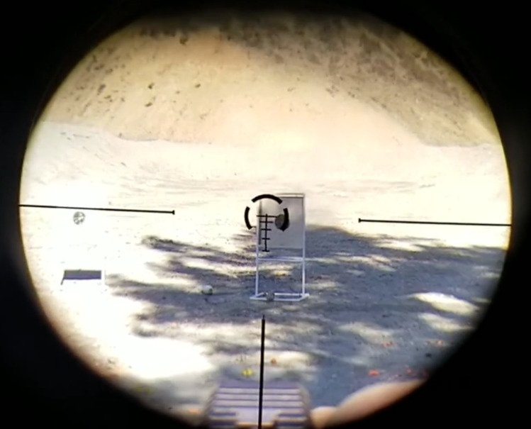 M72 Reticle Movement