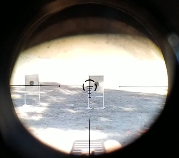 Nero Reticle Movement