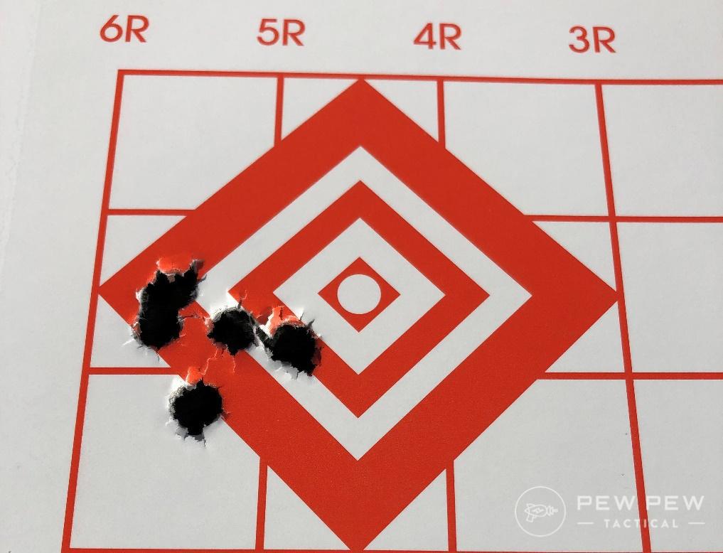 KelTec RDB target