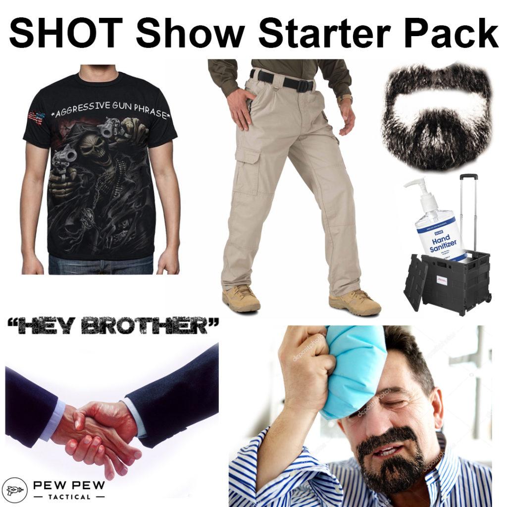 SHOT Show Starter Pack