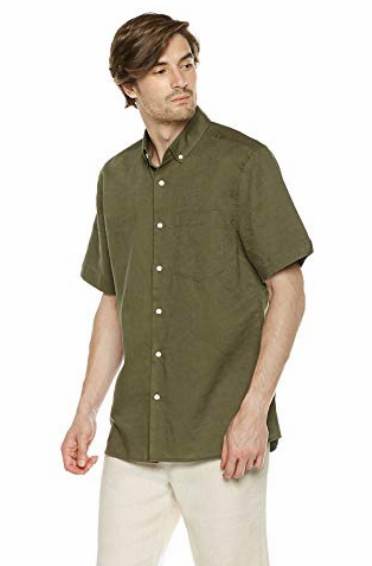 Linen Hawaiian Shirt