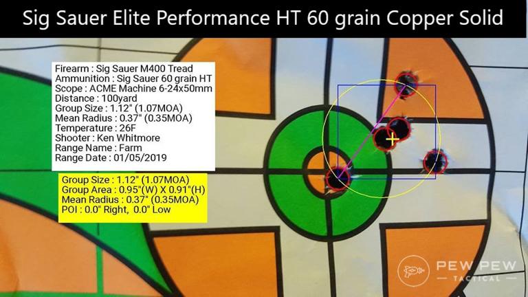 Sig Sauer Tread Sig Elite Performance Group
