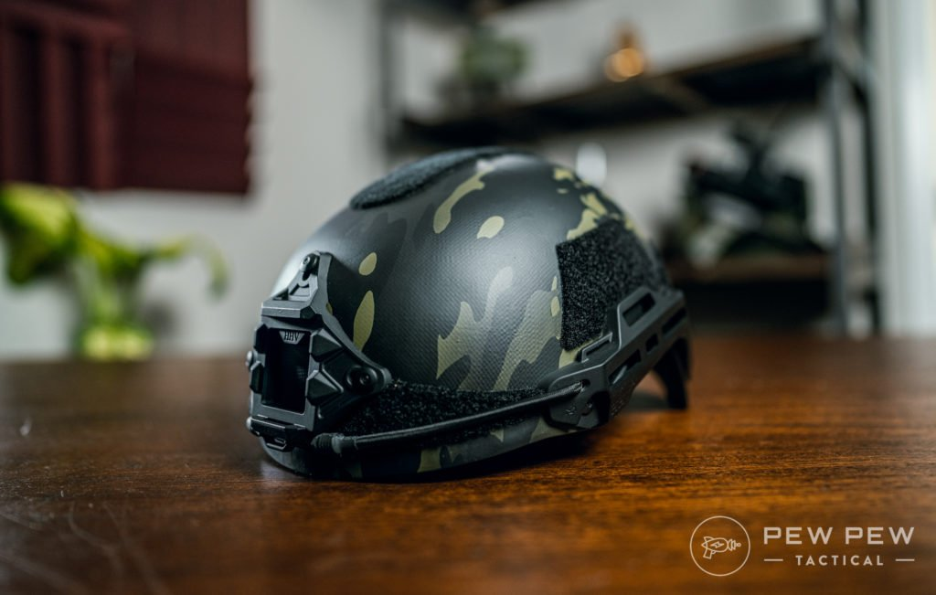 Hard Head Veterans Helmet Gen 2, Black Multicam