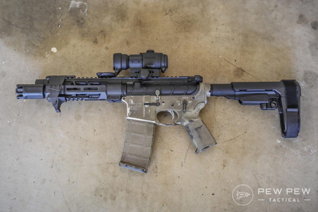 PWS Diablo AR Pistol with SBA3 Brace
