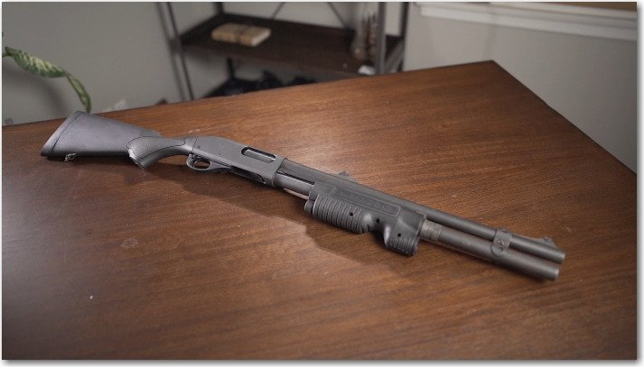 Remington 870 with Streamlight