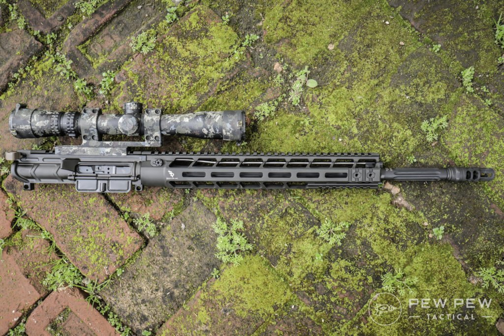 Bootleg Upper with Faxon 18 Fluted Barrel