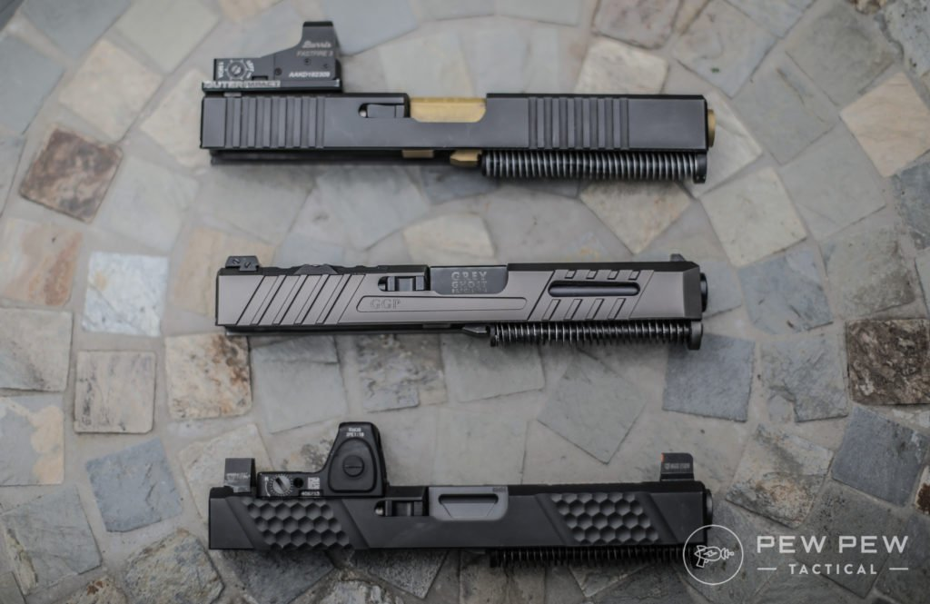 Brownells and GGP Glock Slides