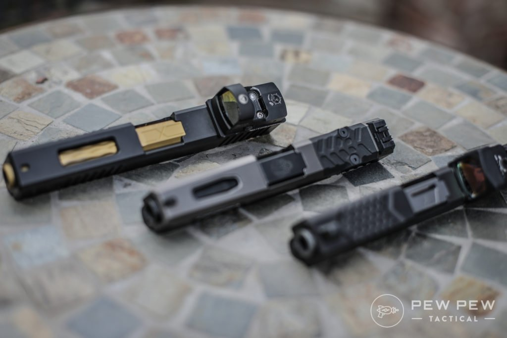 Brownells and Grey Ghost Precision Glock Slides