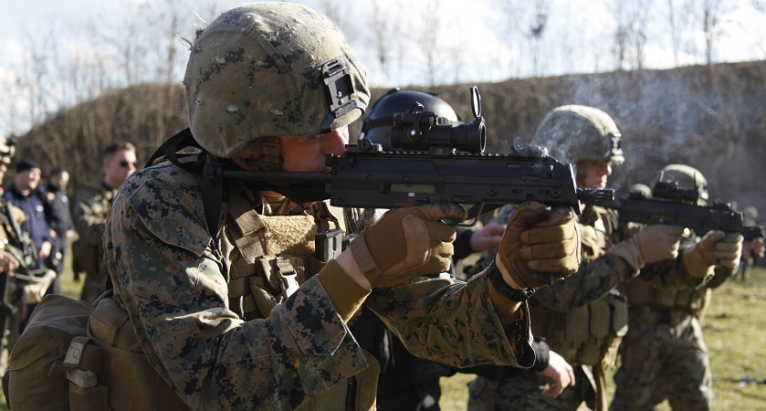 USMC MP7