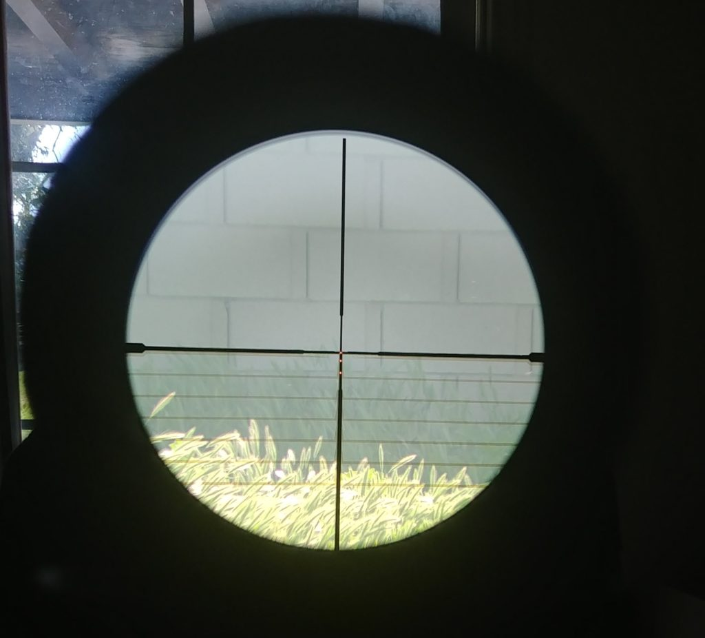 Sig through scope lights