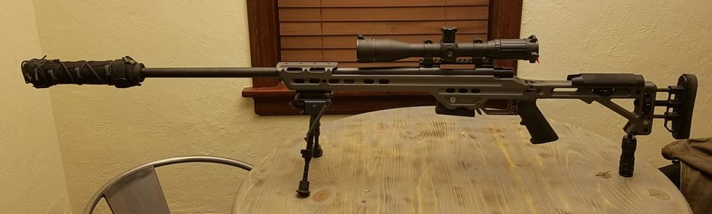 Howa 1500 in MPA Chassis with SWFA 3-15x