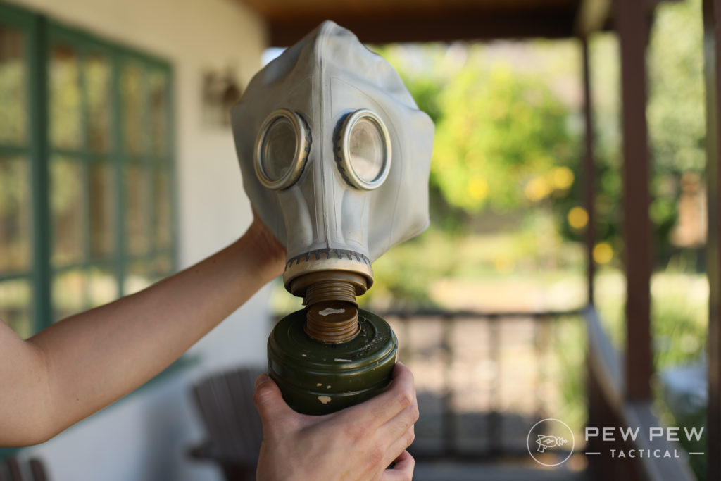 Russian Surplus Gas Mask