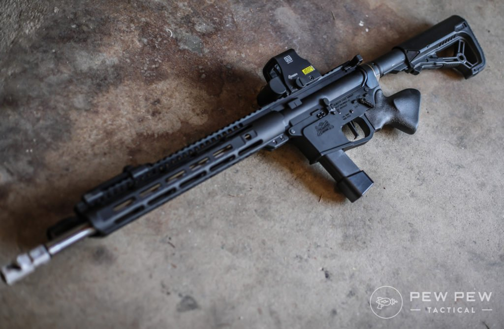 Resurgent Arms Featureless Grip, Left