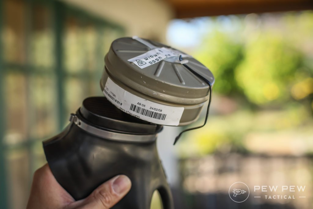 Israeli Gas Mask Filter Expiration
