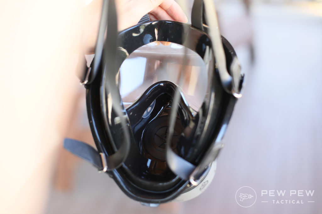 Inside the Mestel SGE 150 Gas Mask