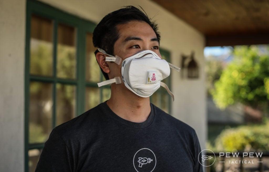 Wearing the 3M P100 Respirator