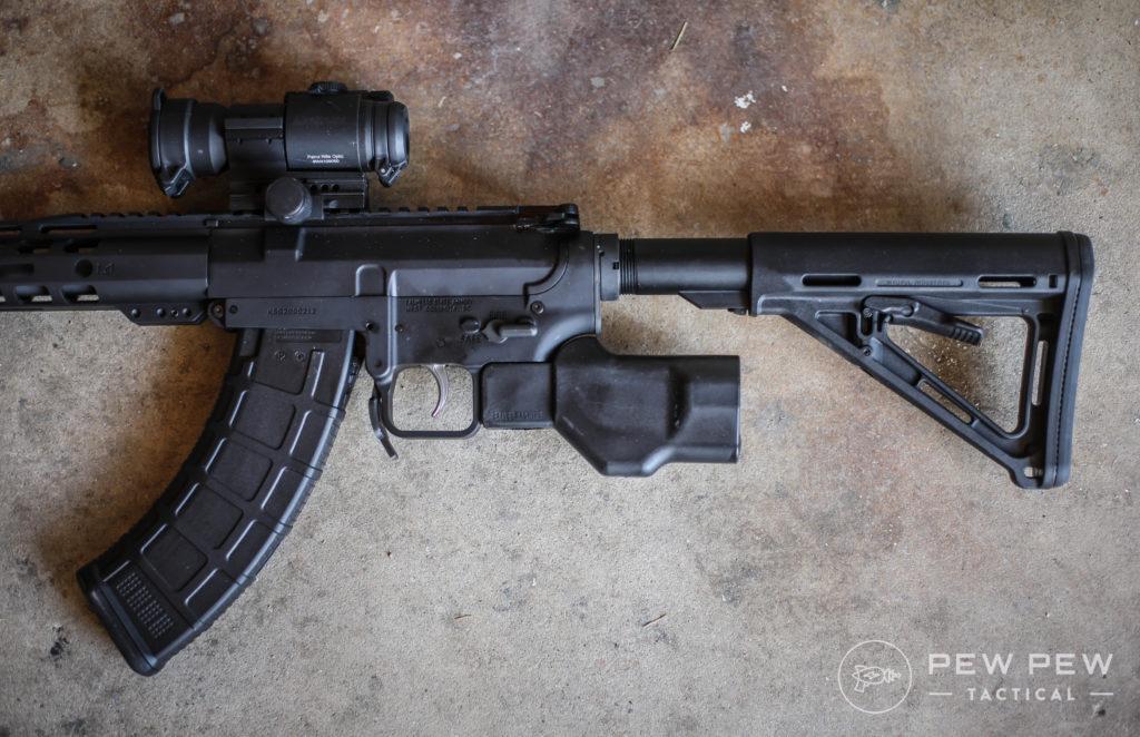 6 Best AR-15 & AK-47 Featureless Grips [CA & NY Compliant