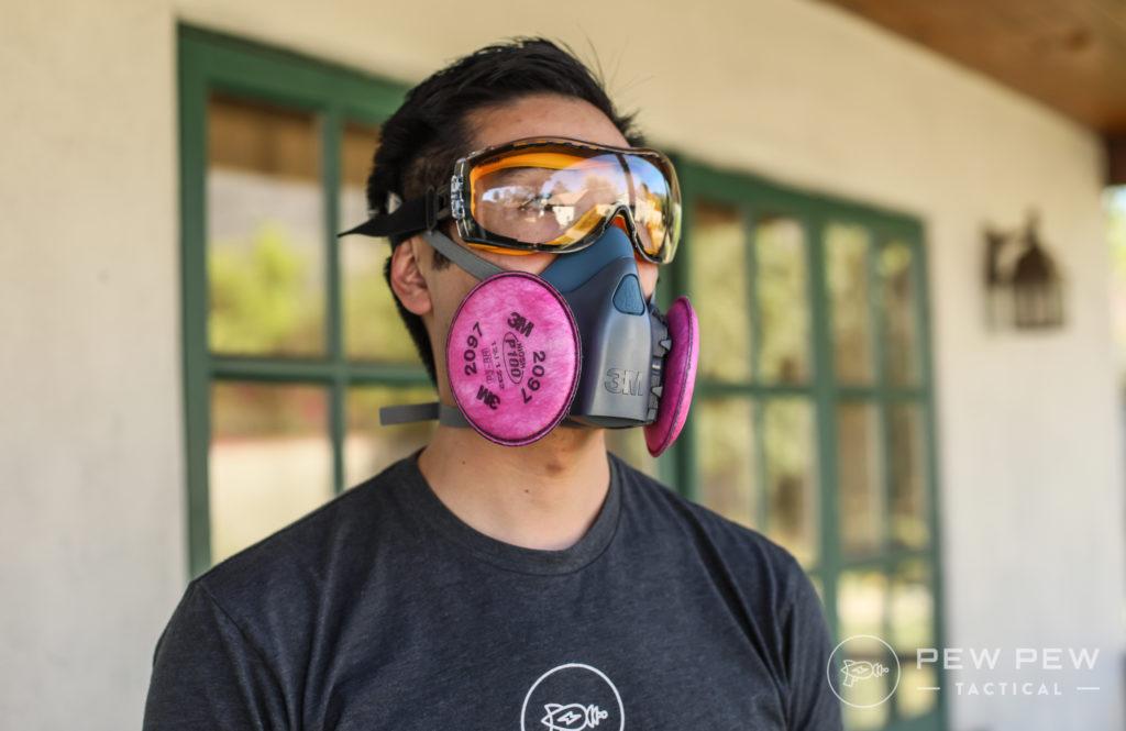 3M Respirator Plus Goggles
