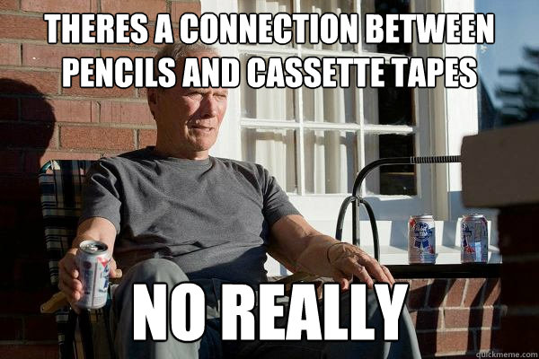 Clint Eastwood cassette tape meme