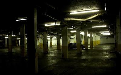 Creepy parking lot