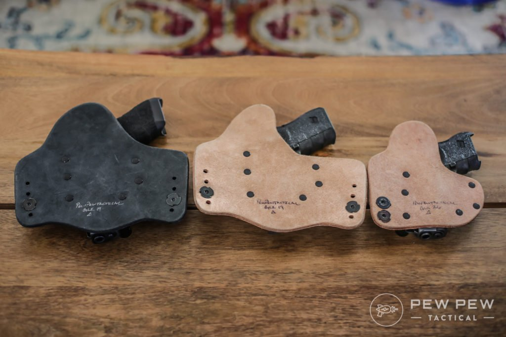 Crossbreed Holsters, Back