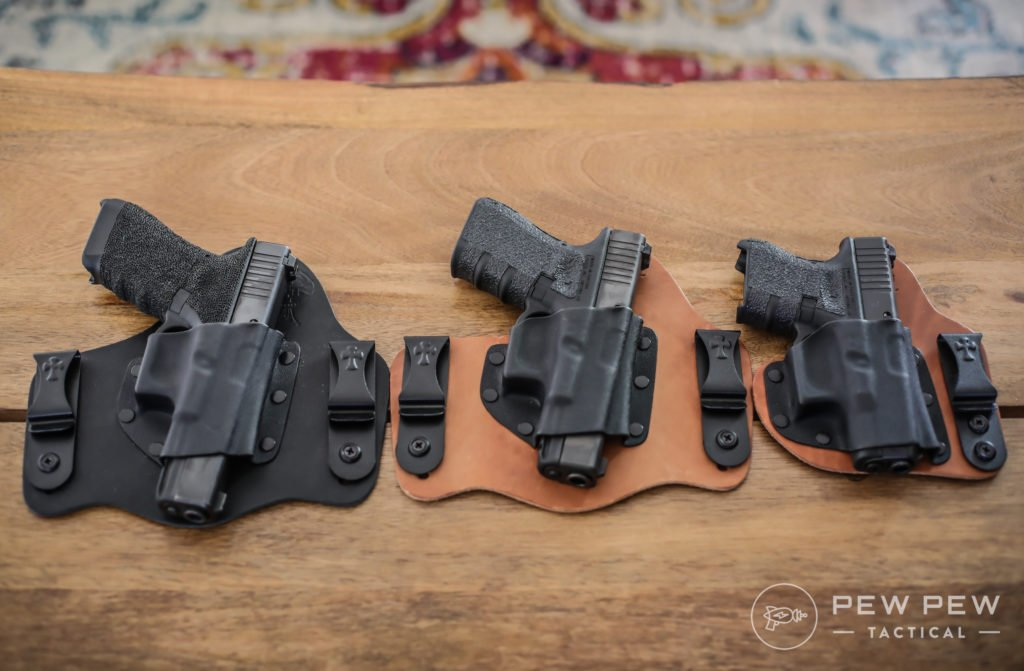 Crossbreed Holsters with G17, G19, G26