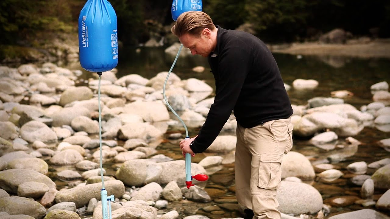 Gravity Fed Water Filter