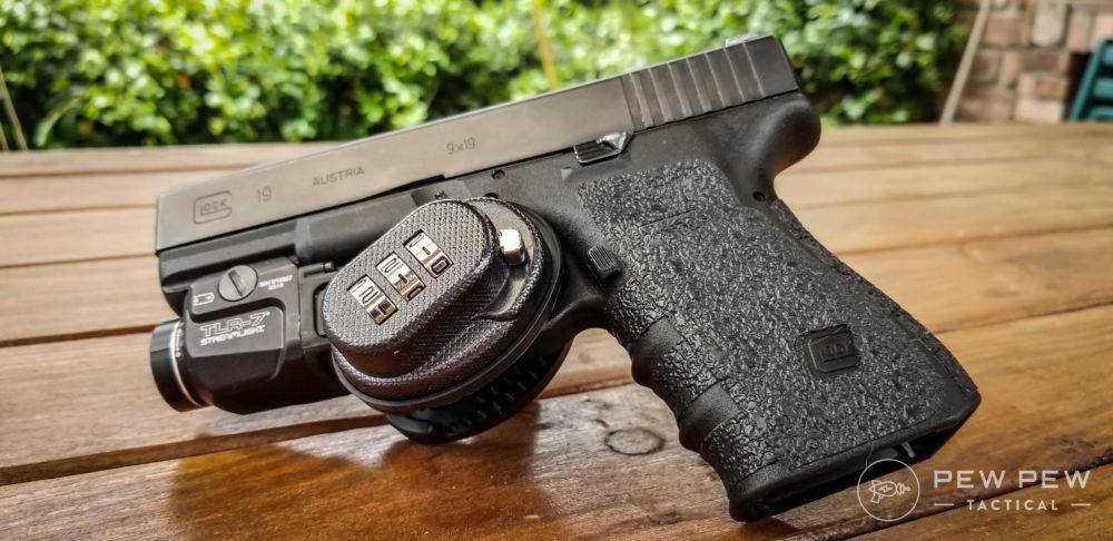 For Universal Firearms Pistol Rifle Shotgun Key Gun Lock Trigger