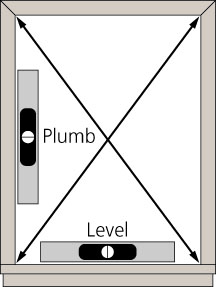 Plumb and Level
