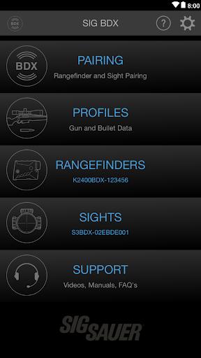 Sig BDX App 2