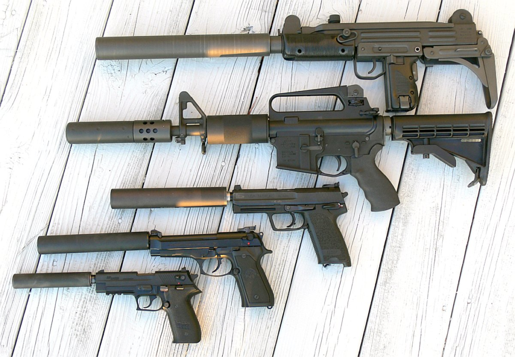all of the suppressors