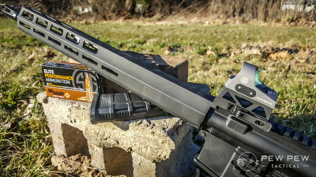 Hands-On Review] Romeo 3 vs Romeo 5 from Sig Sauer - Pew Pew