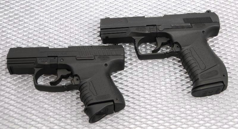 walther p99 vs p99c