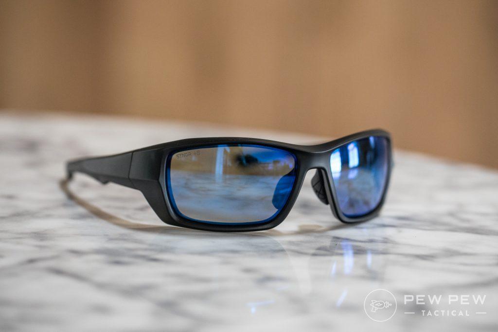 STINGR Alpine Sunglasses, Blue