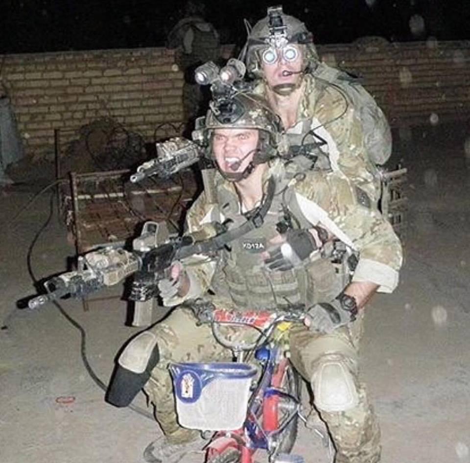 US Rangers, Afghanistan, 2012