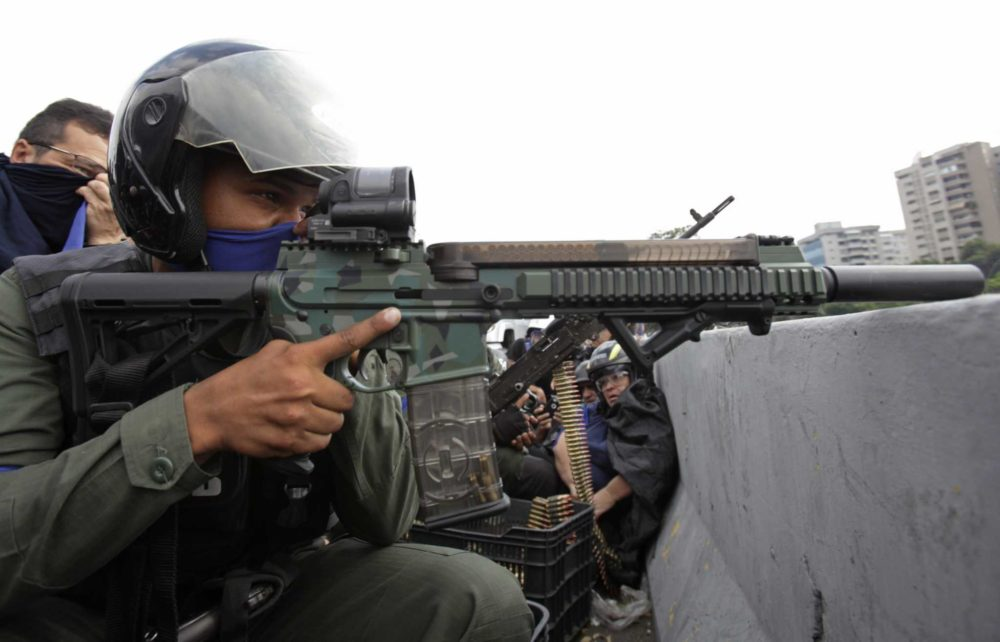 The Strange Small Arms Of The Looming Venezuelan Conflict
