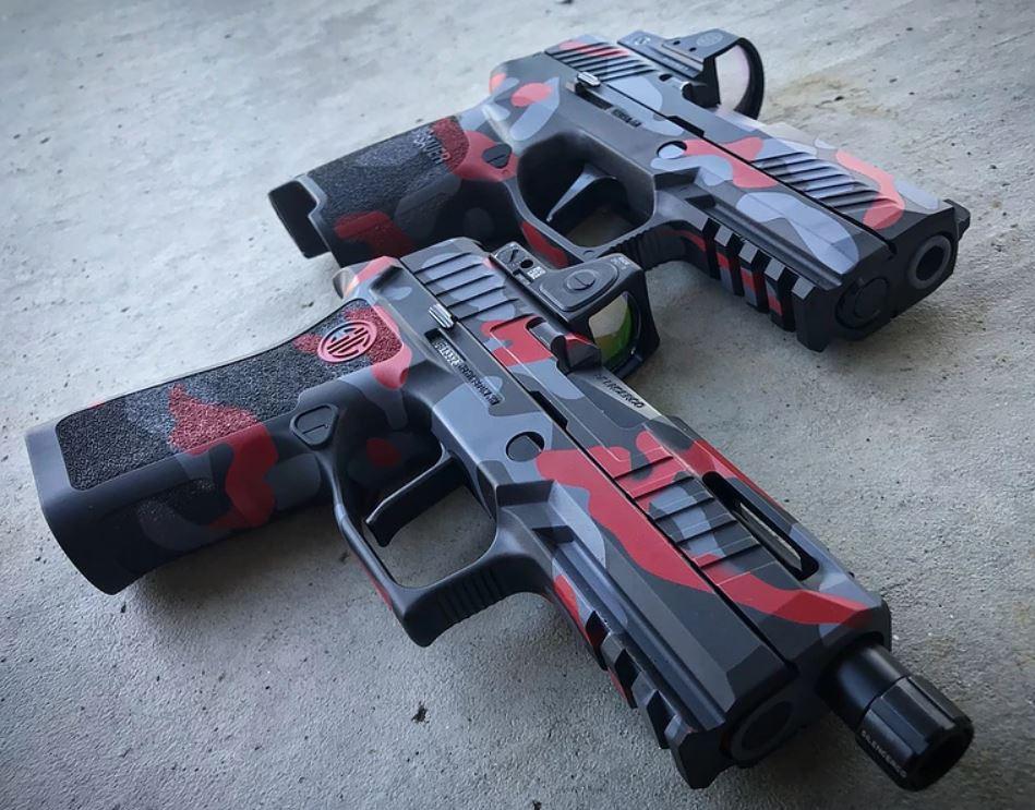 313 Tactical Custom Camo Sig P320