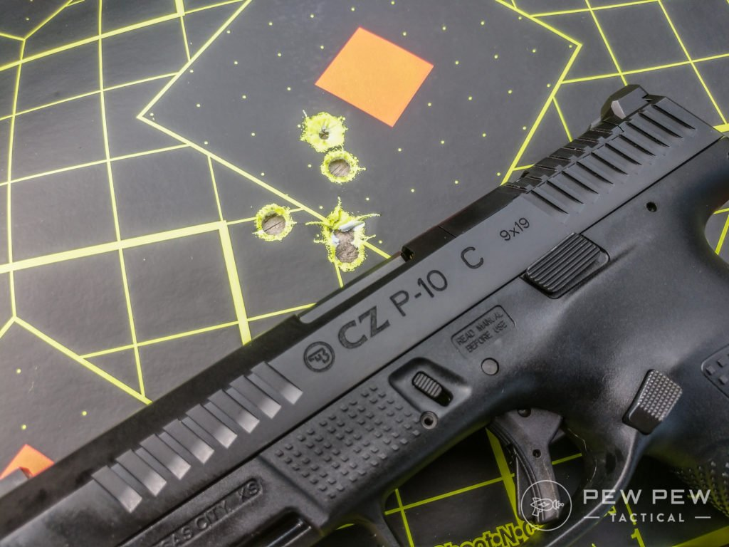 Review] CZ P10C: Compact Optics Ready 9mm EDC - Pew Pew Tactical