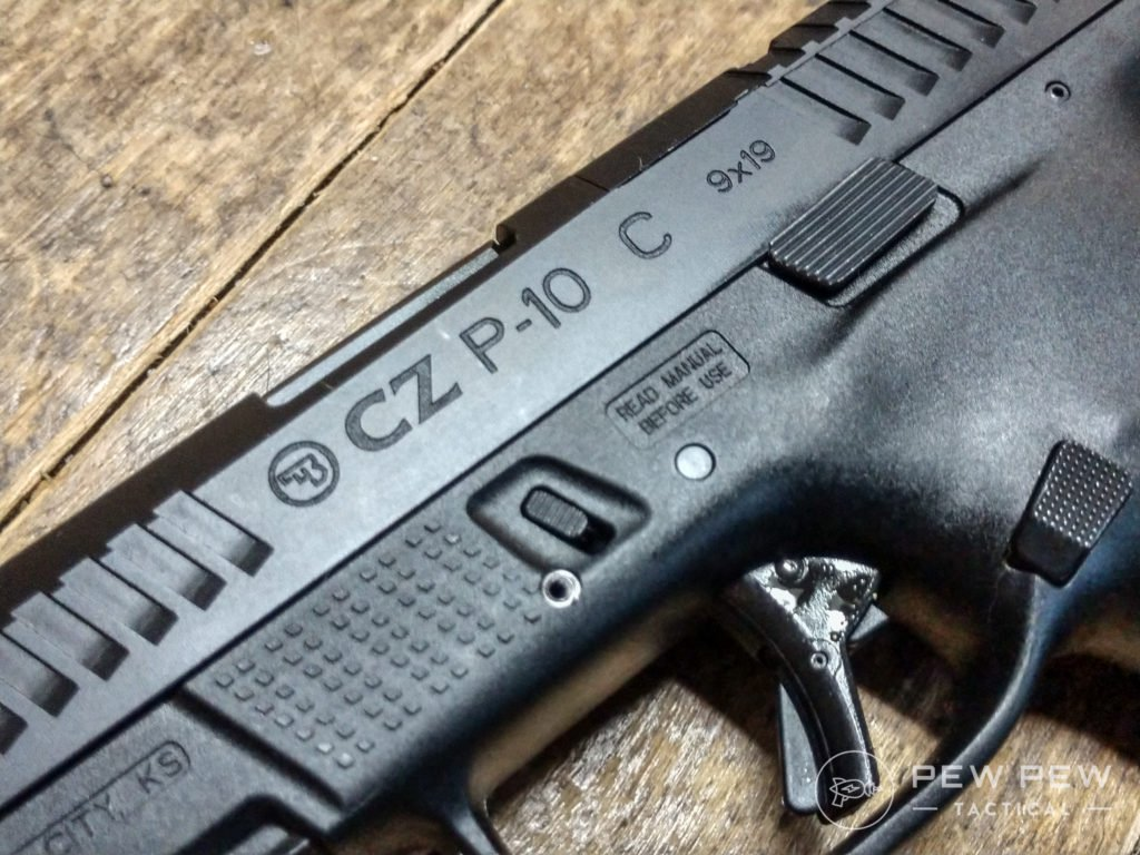 CZ P10C close up