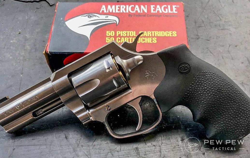 Colt King Cobra with american eagle ammo