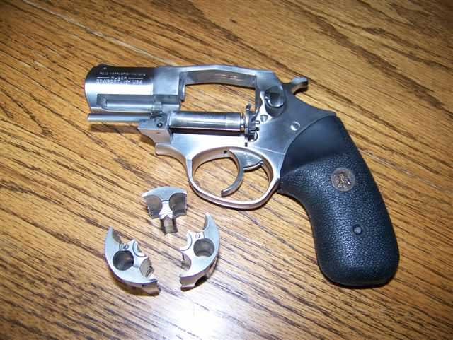 Example of a revolver that failed.