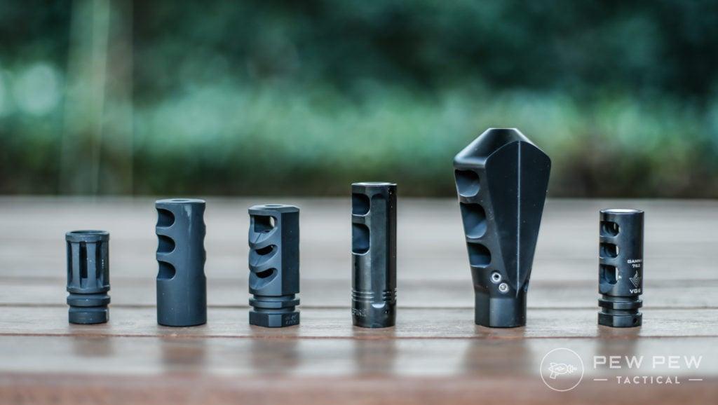 Tested .308 Muzzle Brakes & Compensators